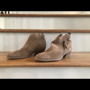 Nine West Tan Booties